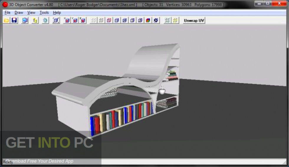 3D Object Converter Free Download-GetintoPC.com