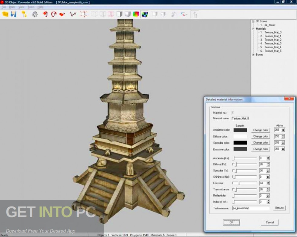 3D Object Converter Latest Version Download-GetintoPC.com