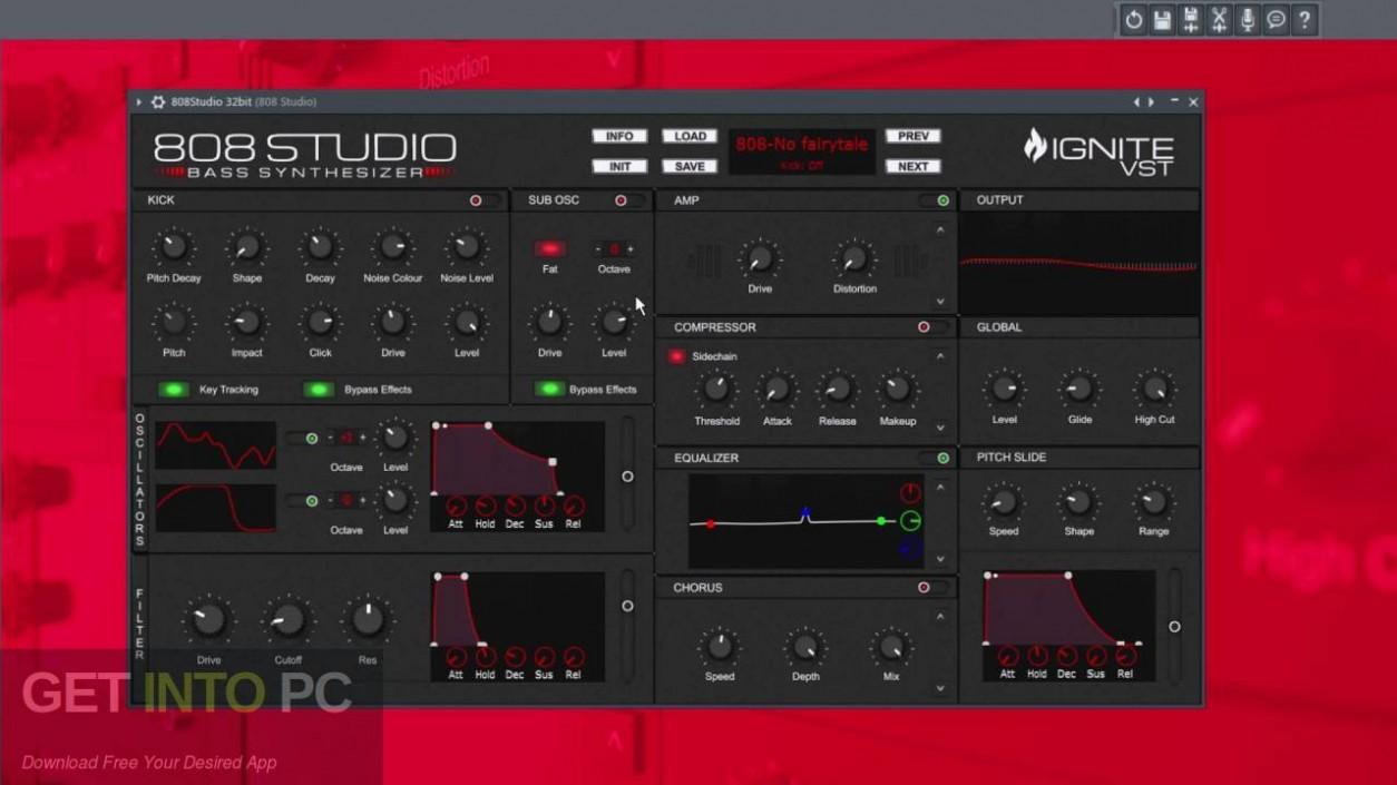 808 Studio VST Latest Version Download-GetintoPC.com