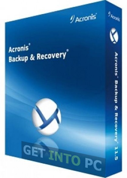 Acronis Backup Recovery offline Installer
