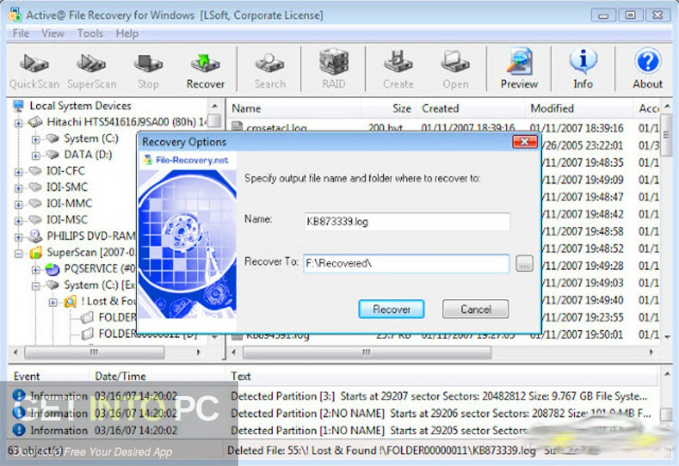 Active File Recovery 2019 Latest Version Download-GetintoPC.com