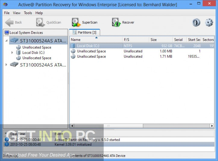 Active Partition Recovery Ultimate 2018 Offline INstaller Download-GetintoPC.com