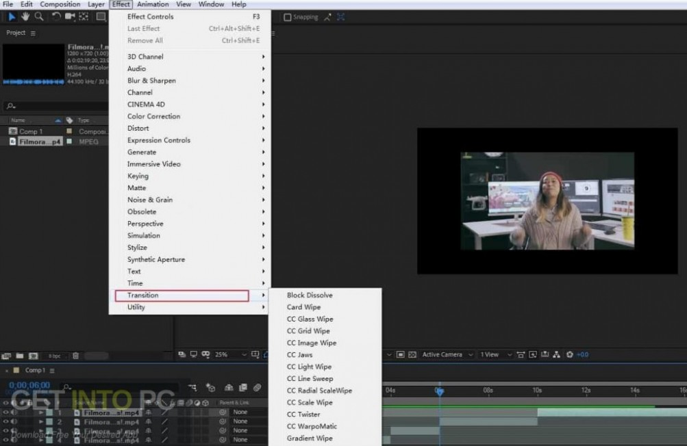 Adobe After Effects CC 2015 Portable Direct Link Download-GetintoPC.com