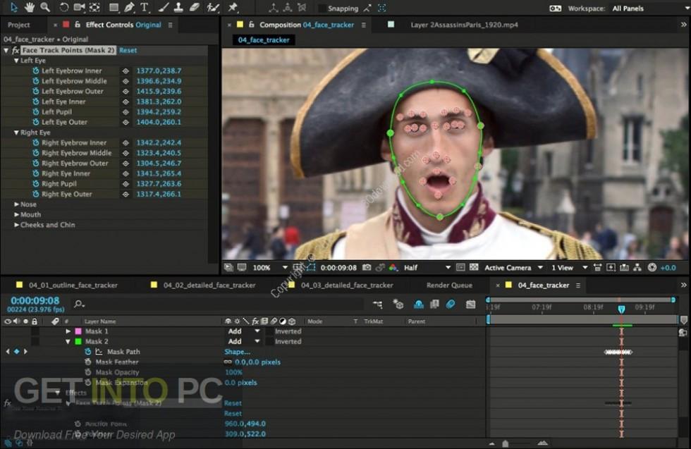 Adobe After Effects CC 2015 Portable Offline Installer Download-GetintoPC.com