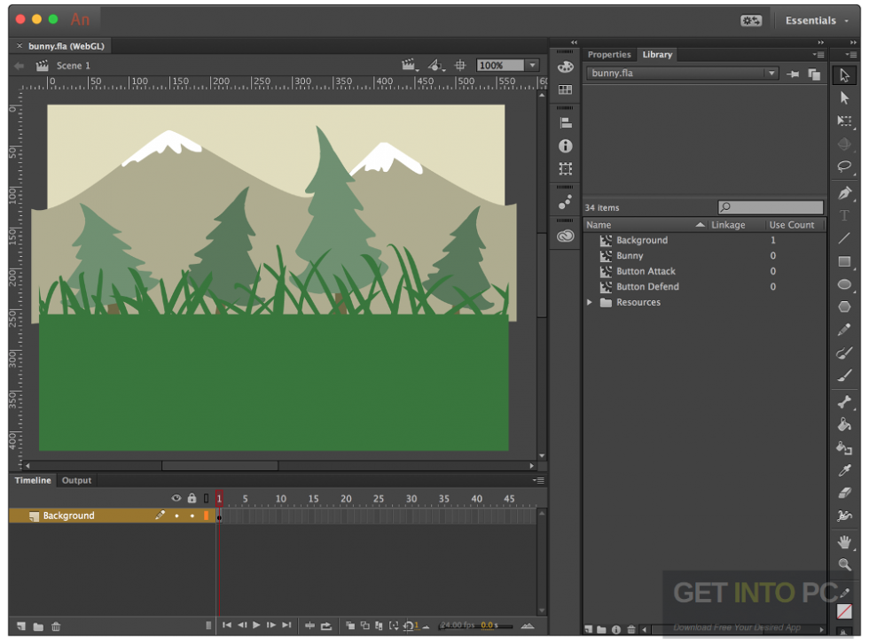 Adobe Animate CC 2017 64 Bit Offline Installer Download