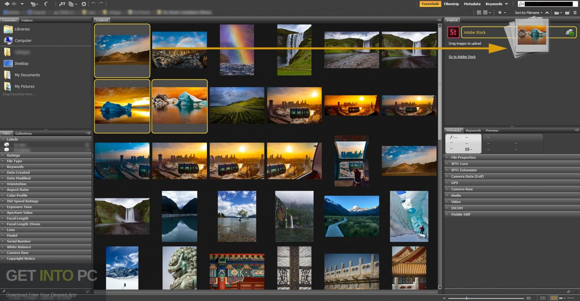 Adobe Bridge CC 2018 Latest Version Download-GetintoPC.com