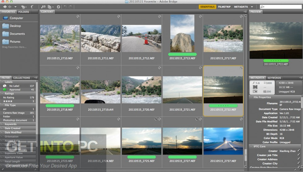 Adobe Bridge CC 2019 Direct Link Download-GetintoPC.com