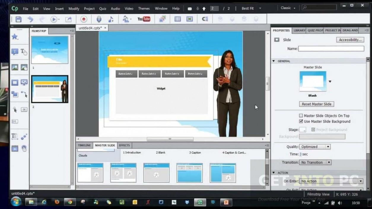 Adobe Captivate CC 2017 latest Version Download