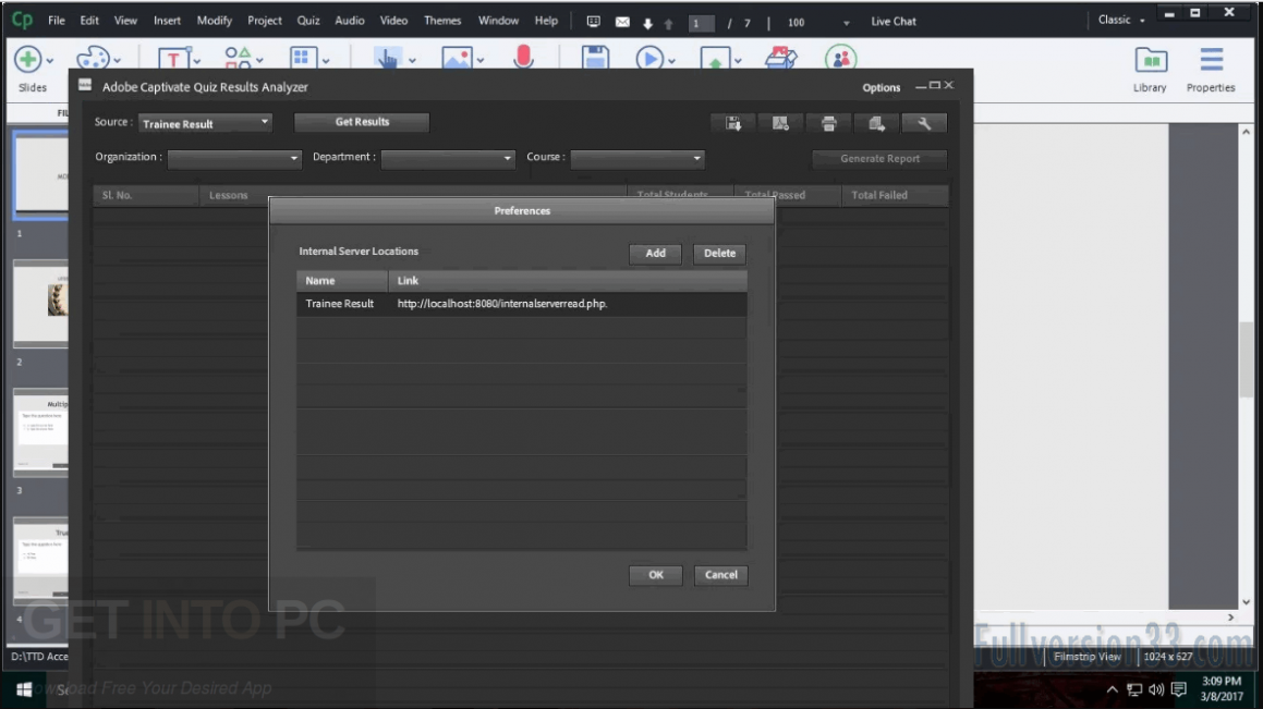 Adobe Captivate CC 2017 Offline Installer Download