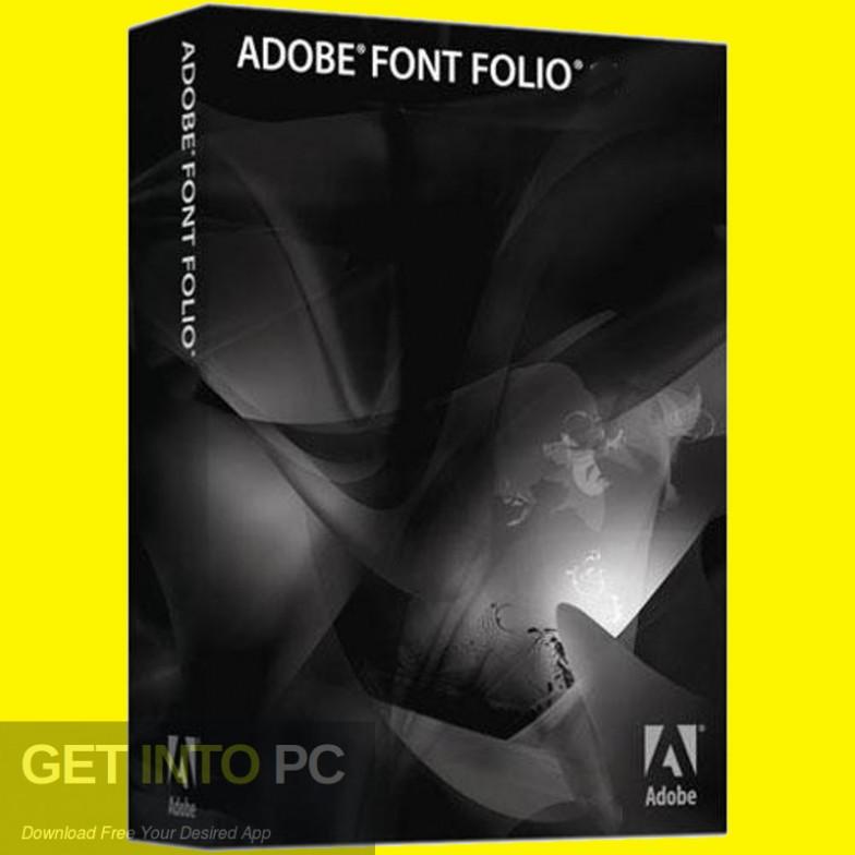 Adobe Font Folio Free Download-GetintoPC.com