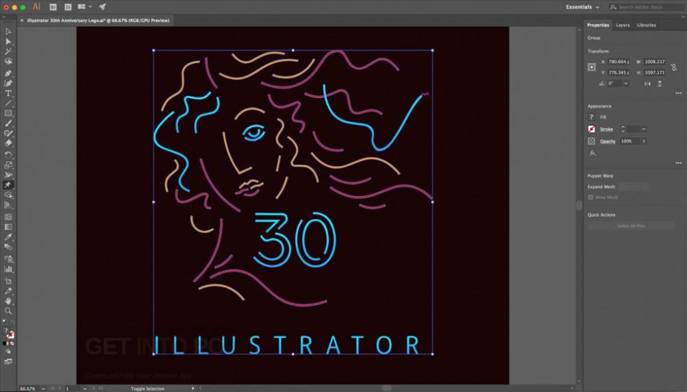 Adobe Illustrator CC 2017 Offline Installer Download