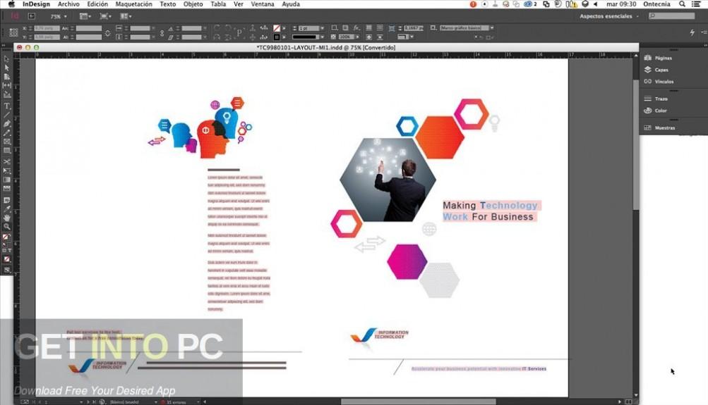 Adobe InDesign CC 2019 Latest Version Download-GetintoPC.com