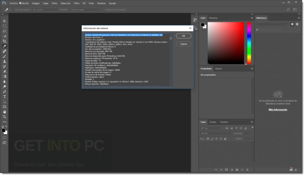 Adobe Photoshop CC 2017 v18 DMG For Mac OS Offline Installer Download