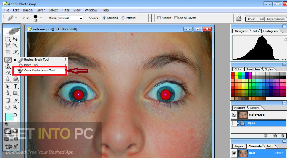 Adobe Photoshop CS 8 Direct Link Download-GetintoPC.com