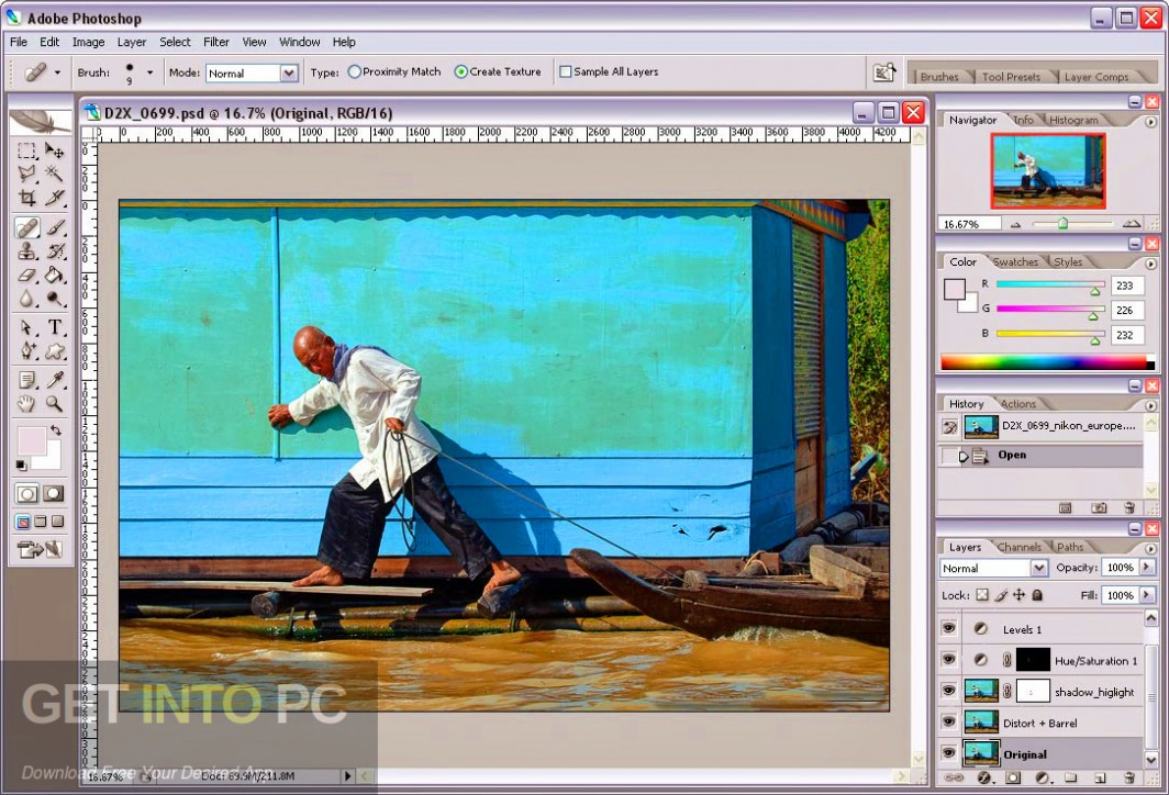 Adobe Photoshop CS 8 Latest Version Download-GetintoPC.com
