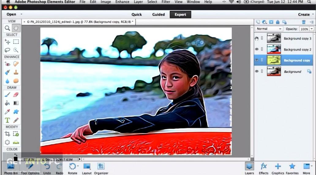 Adobe Photoshop Elements 11 ISO Offline Installer Download