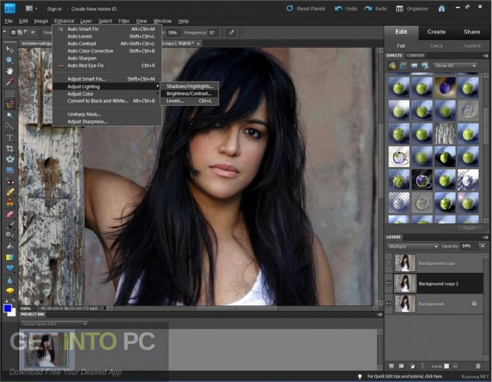 Adobe Photoshop Elements v10 Direct Link Download-GetintoPC.com