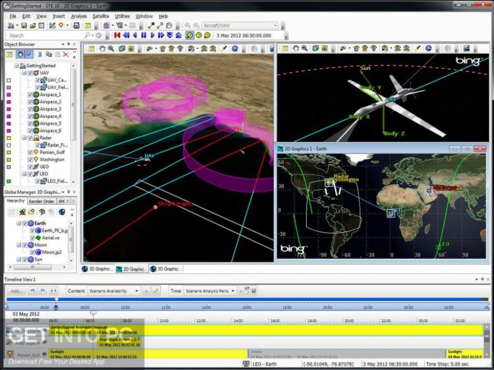 AGI Systems Tool Kit (STK) 11.2 Latest Version Download-GetintoPC.com