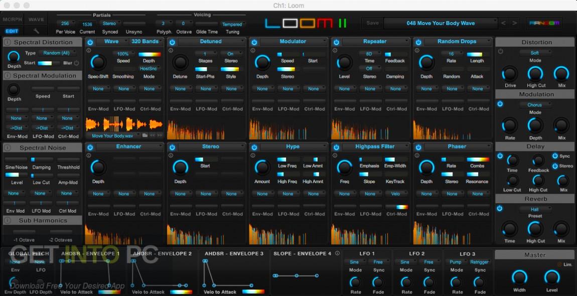 AIR Music Technology - Loom 2 VST Offline Installer Download-GetintoPC.com