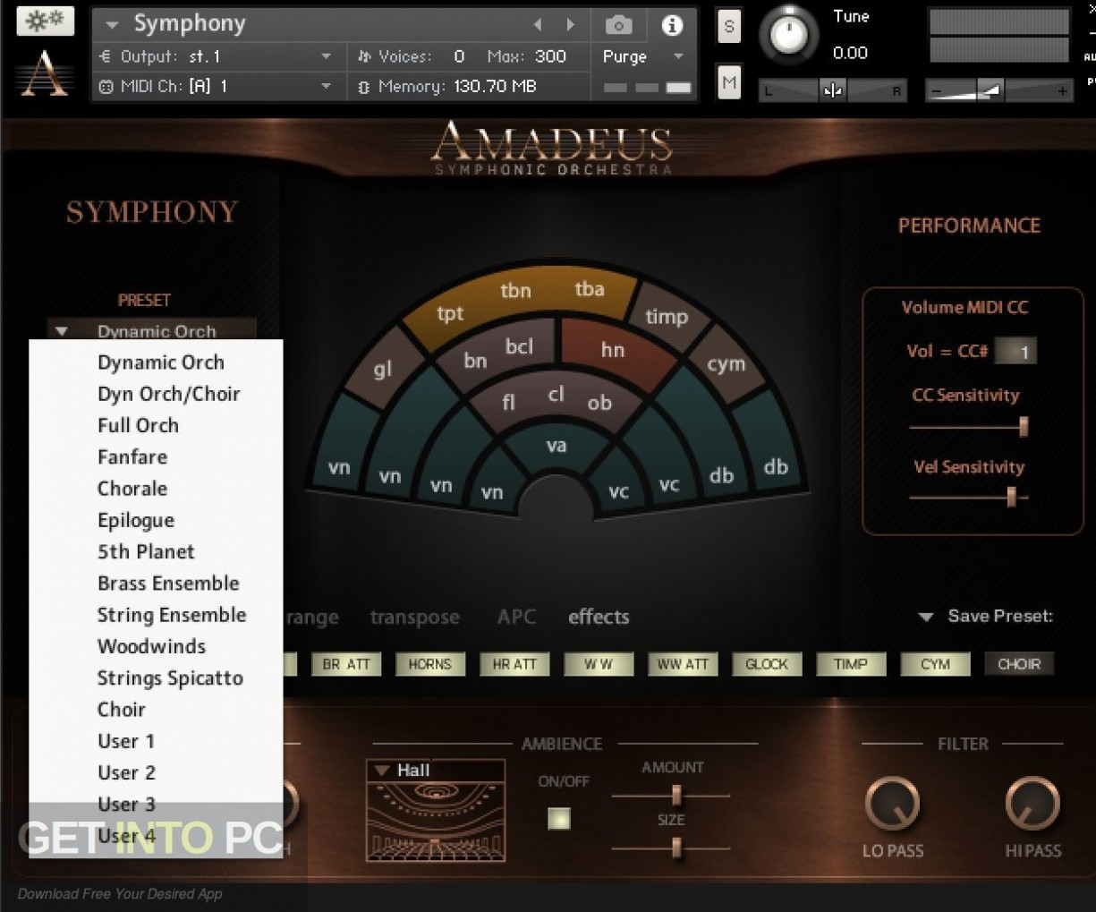 Amadeus Symphonic Orchestra Kontakt Library Direct Link Download-GetintoPC.com