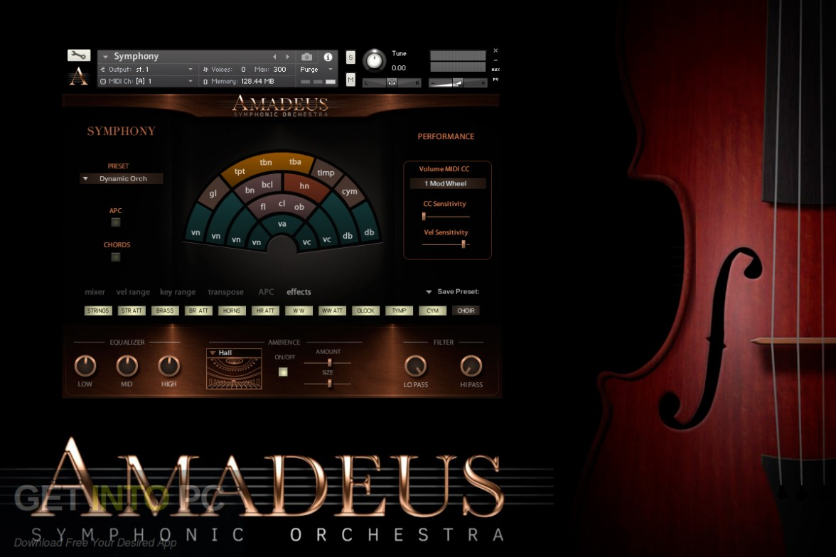Amadeus Symphonic Orchestra Kontakt Library Free Download-GetintoPC.com