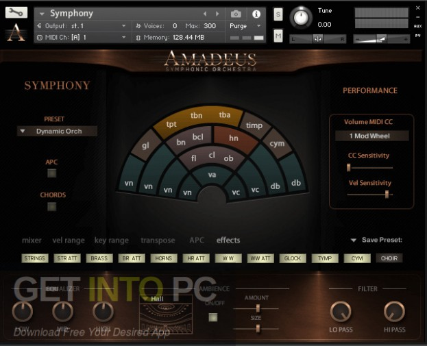 Amadeus Symphonic Orchestra Kontakt Library Latest Version Download-GetintoPC.com