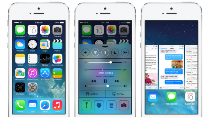 iOS 7 overview