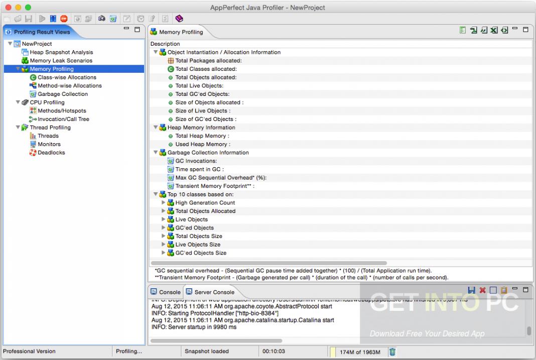 AppPerfect Java Profiler 14 Direct Link Download