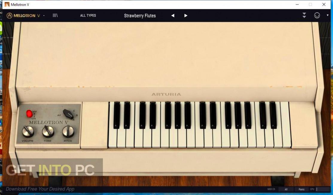 Arturia - Mellotron V Direct Link Download-GetintoPC.com