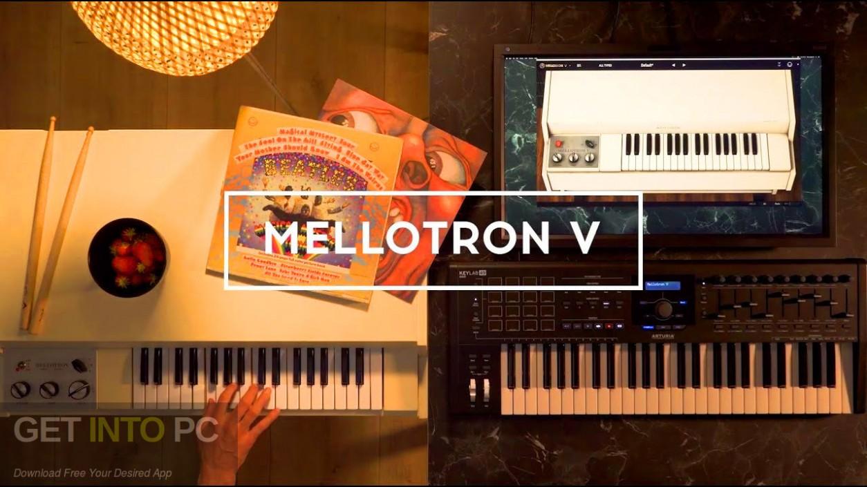 Arturia - Mellotron V Free Download-GetintoPC.com