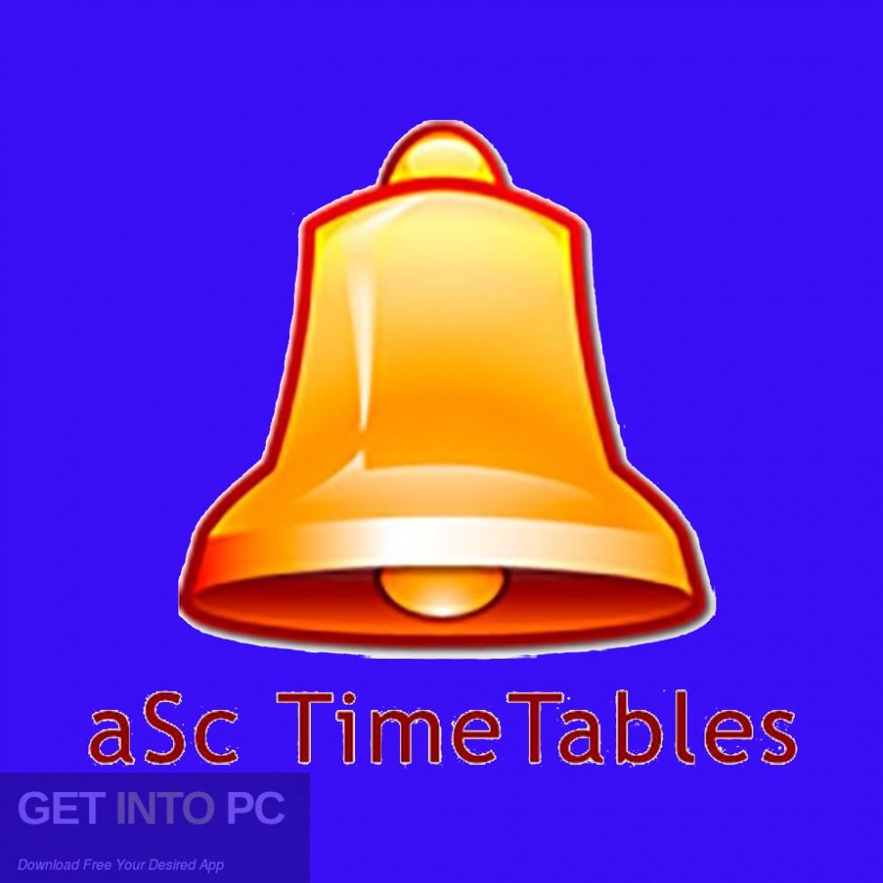 aSc Timetables 2018 Free Download-GetintoPC.com