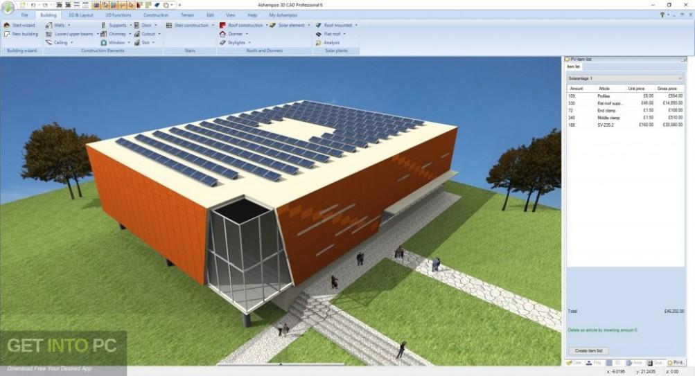 Ashampoo 3D CAD Professional 6 Latest Version Download-GetintoPC.com