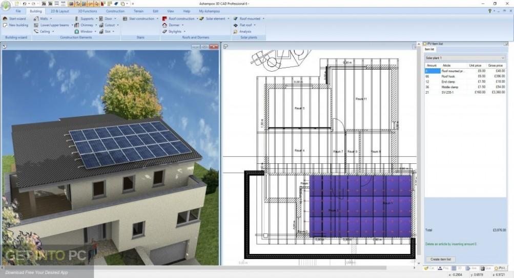 Ashampoo 3D CAD Professional 6 Offline Installer Download-GetintoPC.com