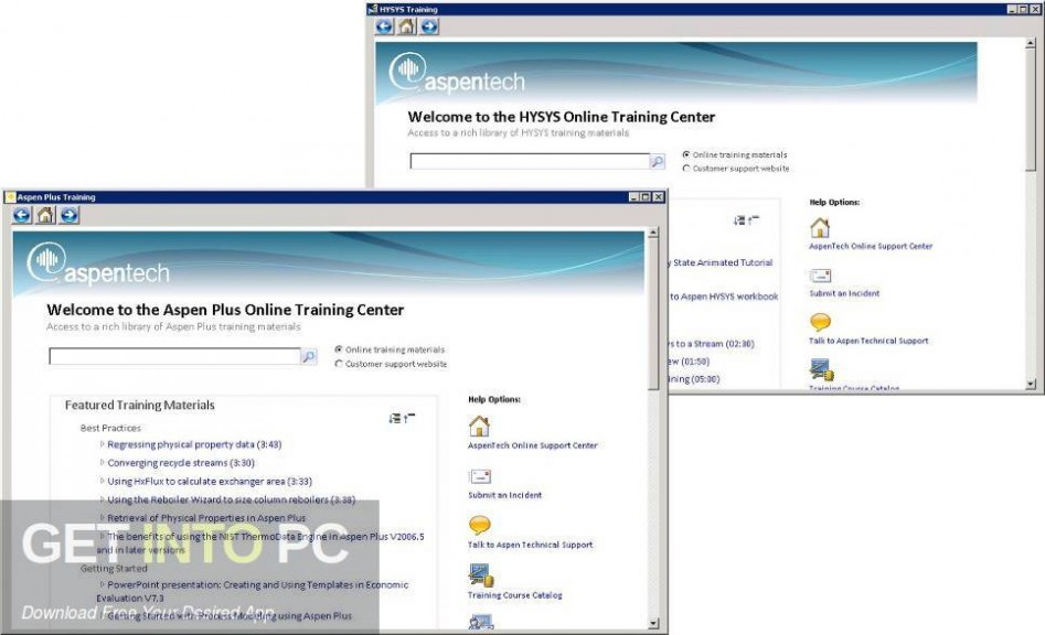 aspenONE Engineering Suite 10 Offline Installer Download-GetintoPC.com