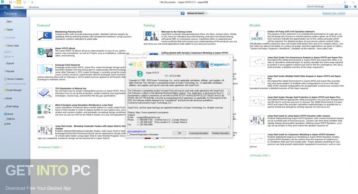 aspenONE Engineering Suite 11 Offline Installer Download-GetintoPC.com