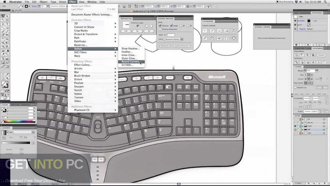 Astute VectorScribe Studio Plugin for Illustrator Latest Version Download-GetintoPC.com