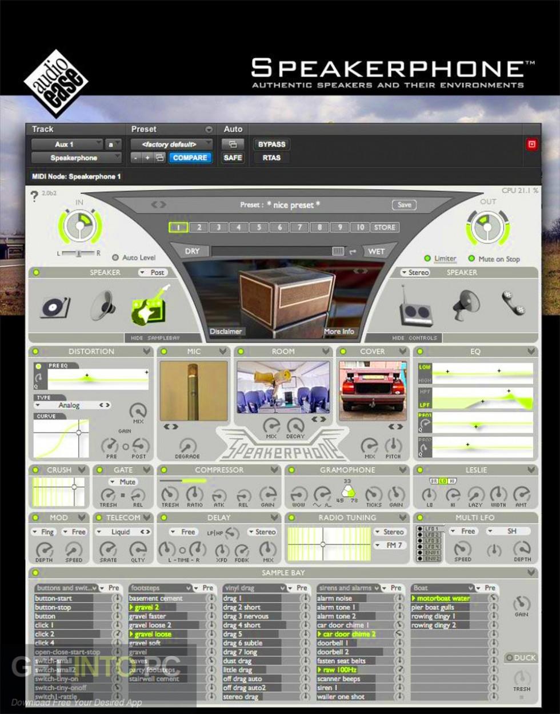 Audio Ease - Speakerphone VST Offline Installer Download-GetintoPC.com