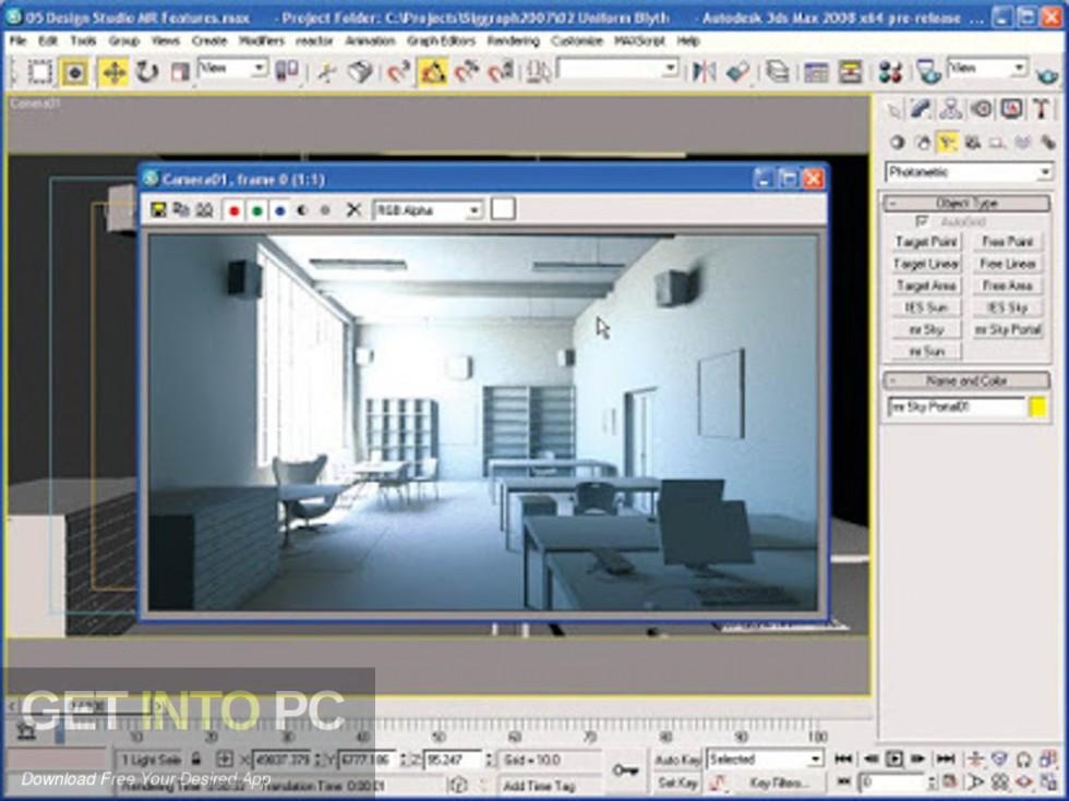 Autodesk 3ds Max 2008 32 64 Bit Latest Version Download-GetintoPC.com