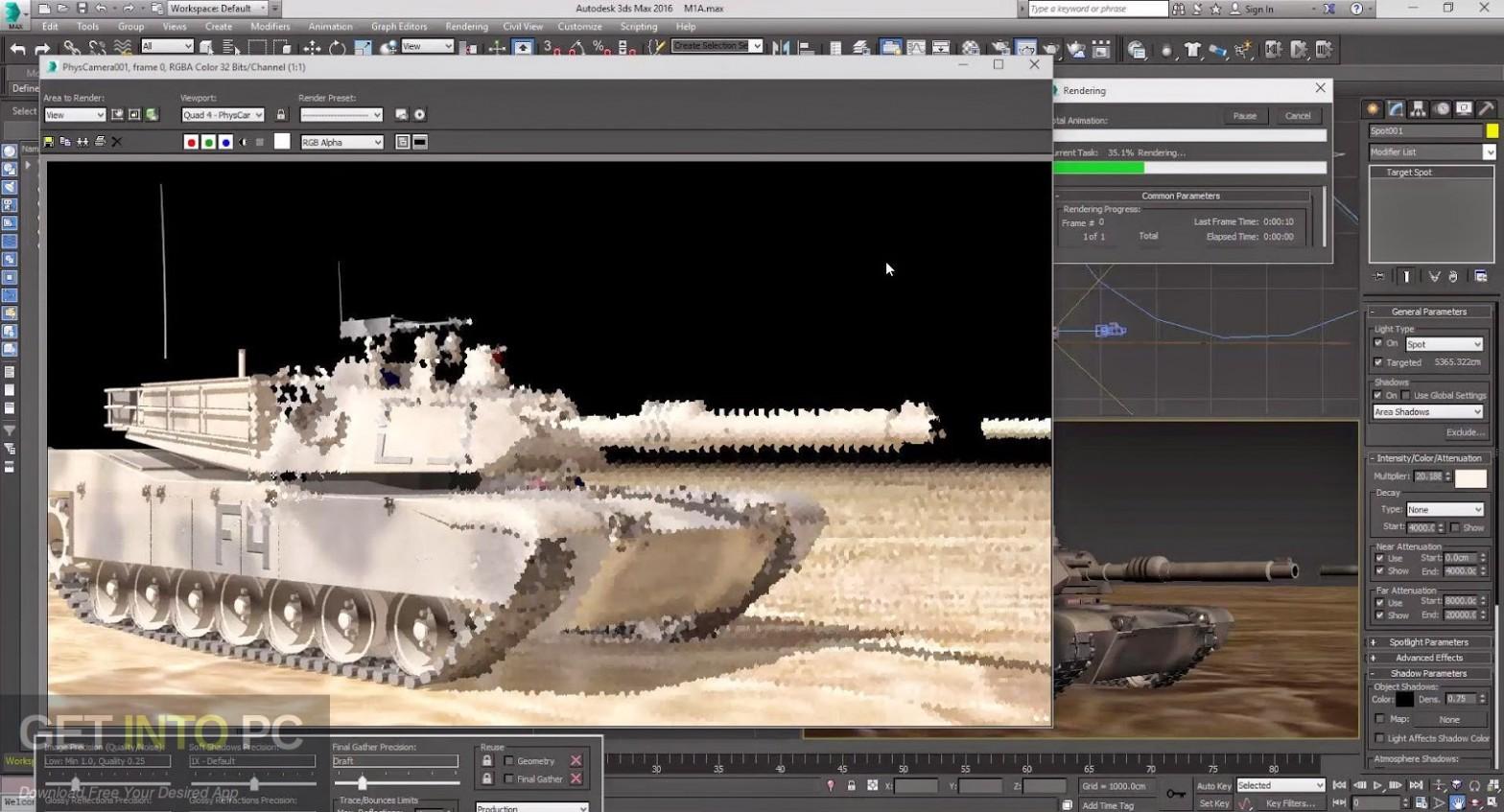 Autodesk 3ds Max 2008 32 64 Bit Offline Installer Download-GetintoPC.com
