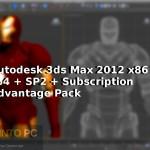 Autodesk 3ds Max 2012 x86 x64 + SP2 + Subscription Advantage Pack Free Download