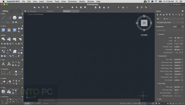 Autodesk AutoCAD 2017 DMG For Mac OS Latest Version Download