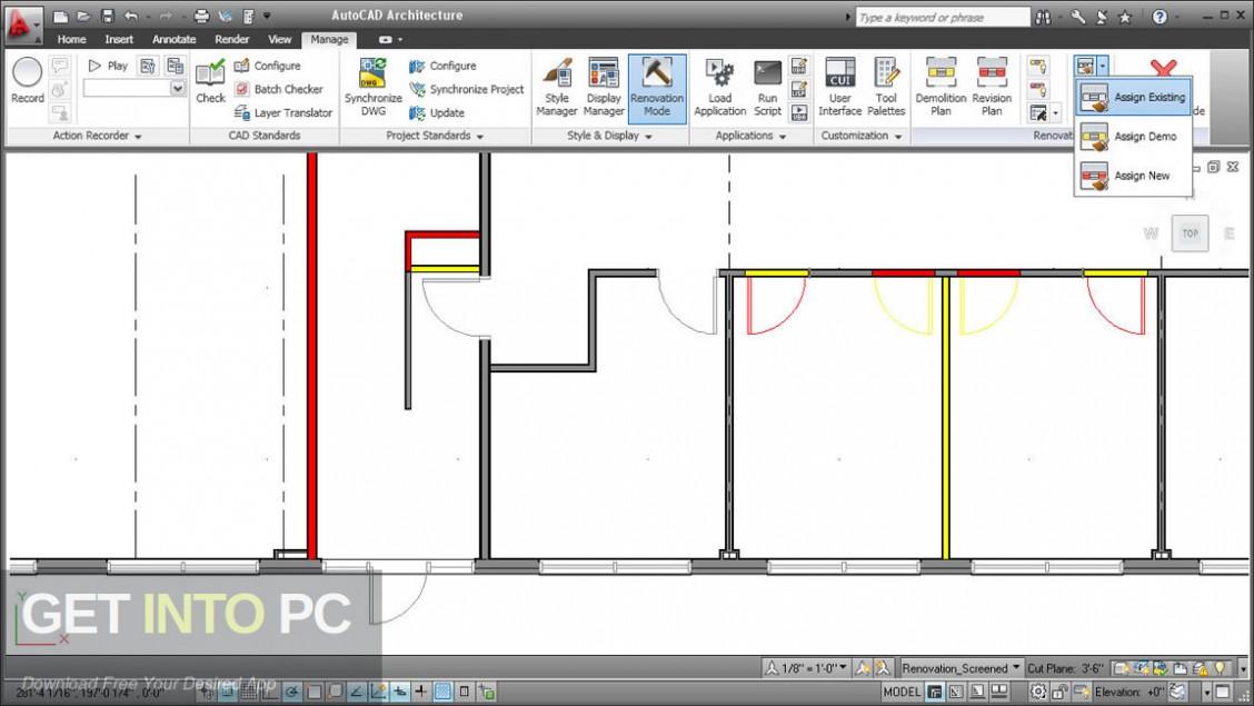 Autodesk AutoCAD Architecture 2020 Latest Version Download-GetintoPC.com