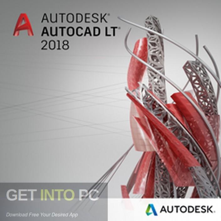 Autodesk Autocad LT 2018 Free Download-GetintoPC.com
