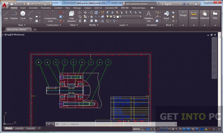 Autodesk AutoCAD Mechanical 2017 Direct Link Download