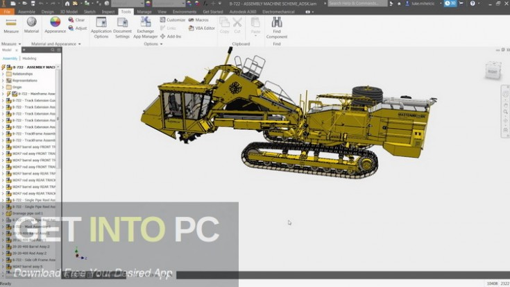 Autodesk Inventor Pro 2019 Free Download