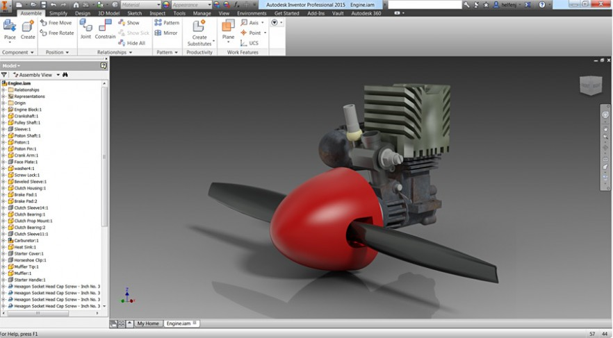 Autodesk Inventor Pro v2017 64 Bit ISO Offline Installer Download