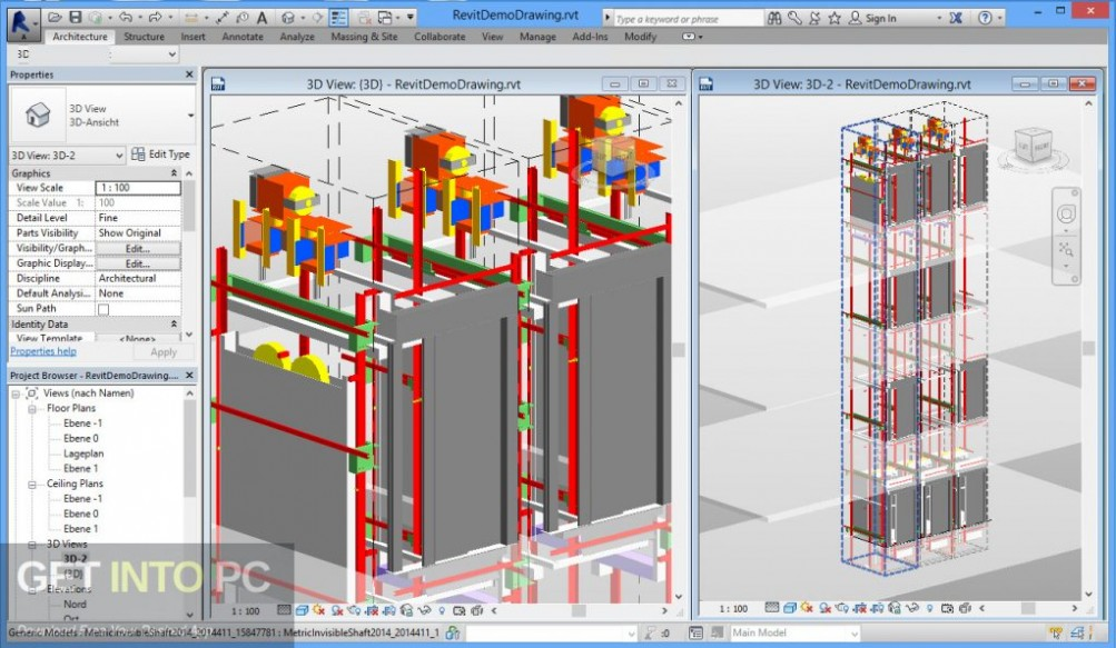 Autodesk Revit 2016 Direct Link Download-GetintoPC.com