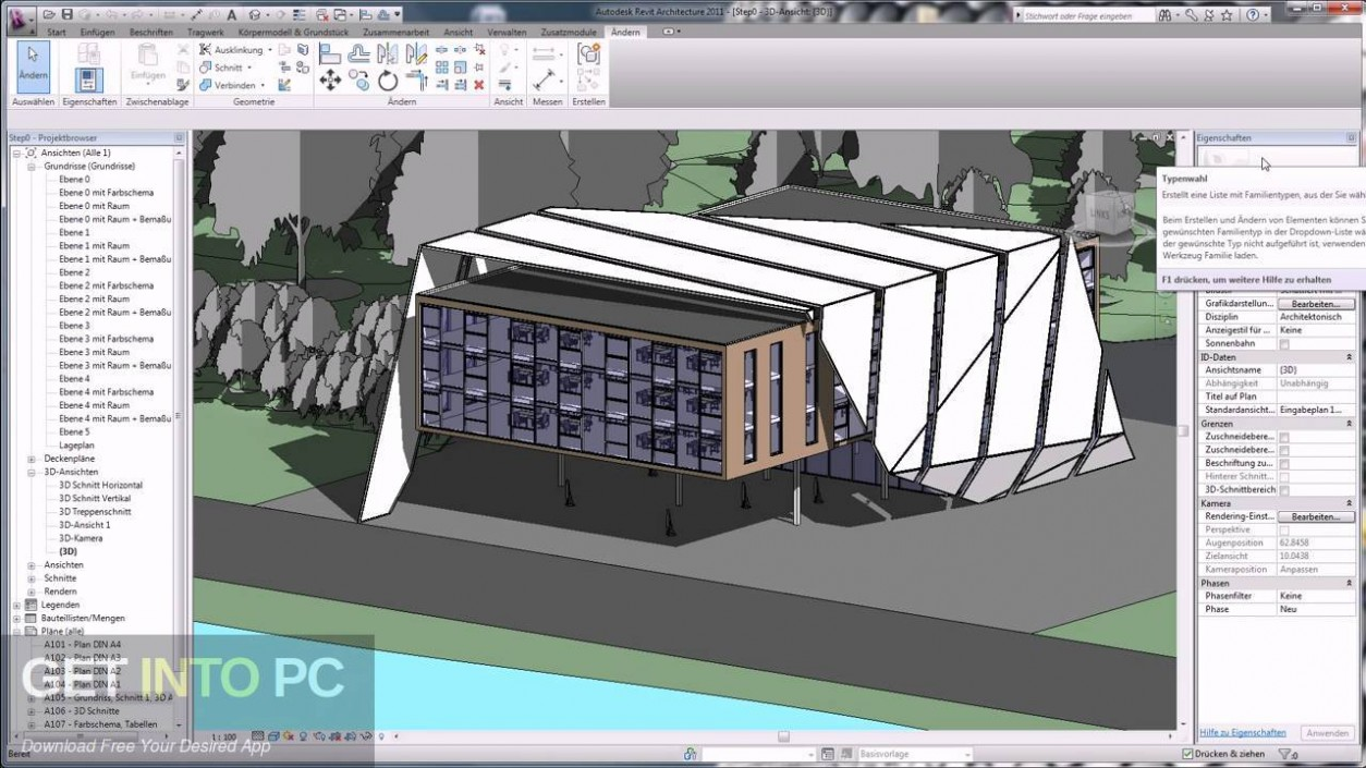 Autocad Revit Architecture Suite 2012 64-Bit