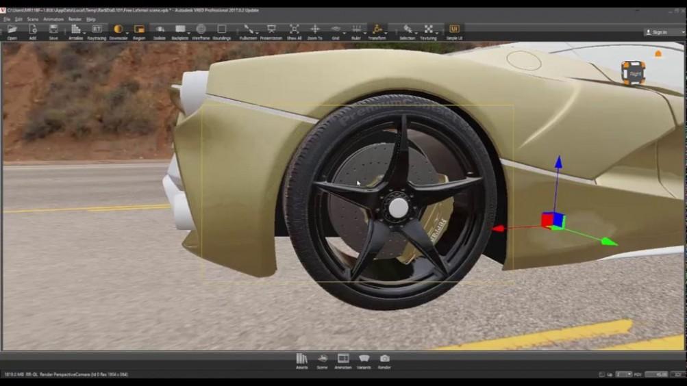 Autodesk VRED Presenter 2018 Offline Installer Download