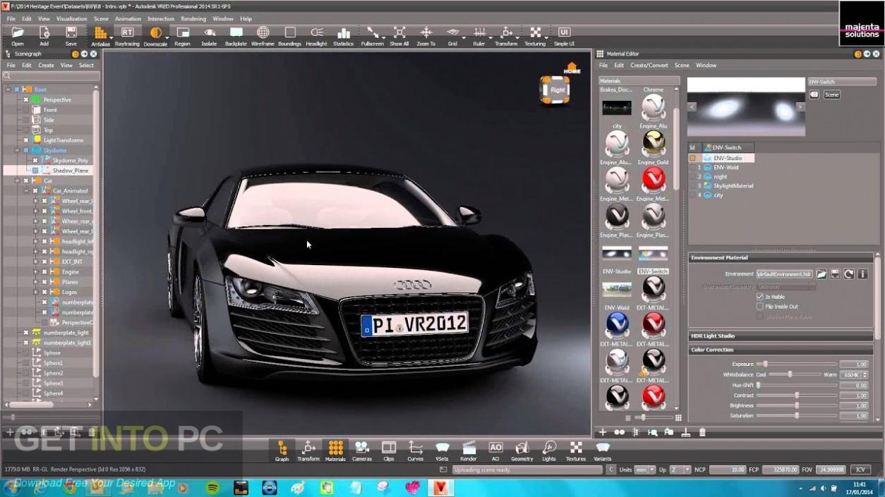 Autodesk VRED Presenter 2021 Latest Version Download